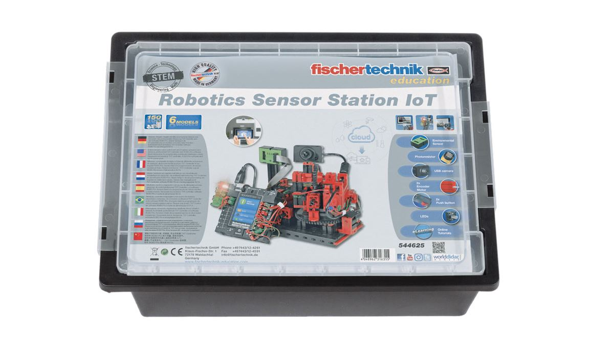 fischertechnik ROBOTICS Sensor Station - Smart Home - Internet of things