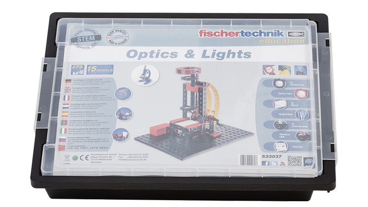 fischertechnik Optics and Lights Box geschlossen